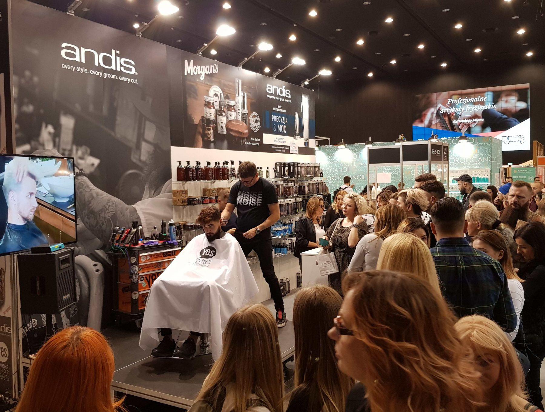 Sed Fryz na Festiwalu Fryzjerskim Hair Fair