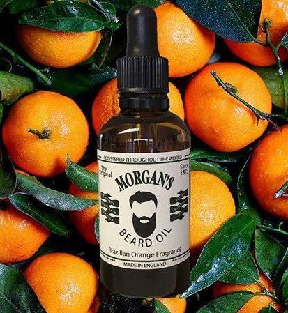 MORGAN'S - nowy olejek do brody o zapachu brazylijskiej pomarańczy