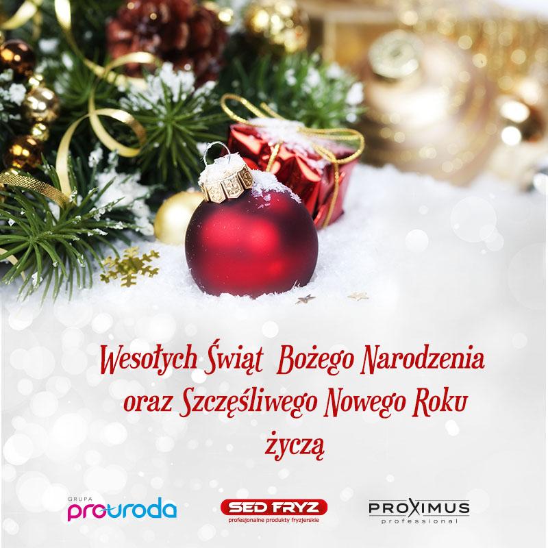 Życzenia świąteczno - noworoczne !!!
